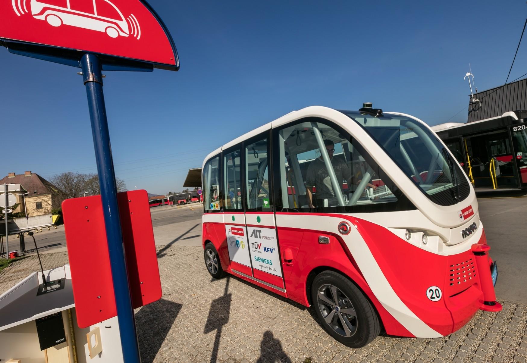 Autonome Autobuslinie Für Wien Kfv Kuratorium Für Verkehrssicherheit